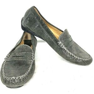 VANEli Leather Driving Moccasins | Gray